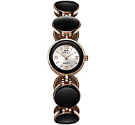 economico -Per donna Orologio braccialetto Quarzo Analogico Quarzo Formale Elegante Orologio casual / Un anno / Acciaio inossidabile