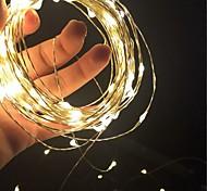 economico -decorazione natalizia 10 m luci stringa led 10 pz 4 pz 1 pz 100 luci fata stellate led impermeabili per natale matrimonio casa vacanza festa sala decorazione esterna