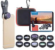 economico -Obiettivo del telefono cellulare Obiettivo con filtro / Obiettivo Fish-Eye / Lunghezza focale della lente vetro / Lega di alluminio 2X 20 mm 15 m 198 ° Romantico / Fantastico