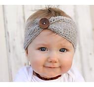 abordables -Bébé basique / Doux Fille Couleur Pleine Accessoires Cheveux Acrylique Blanche / Noir / Bleu Taille unique