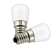 economico -2pcs 1.5 W Lampadine globo LED 85 lm E14 T22 1 Perline LED SMD Decorativo Adorabile Bianco caldo Luce fredda 220 V 110 V