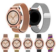 abordables -Bracelet de montre connectée pour Samsung Galaxy 1 pcs Bracelet Sport Bracelet Milanais Acier Inoxydable Remplacement Sangle de Poignet pour Montre Samsung Galaxy 42 mm 20 mm