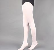 abordables -Ballet Collants Fille Entraînement / Utilisation Polyester Couleur Unie Chaussettes