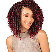 abordables -Crochet Tresses De Cheveux Torsades de printemps Tresses de boîte Marron clair Couleur naturelle Cheveux Synthétiques Rajouts de Tresses 3 Pièces Cheveux Colorés