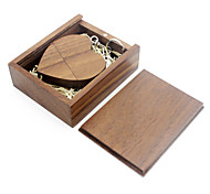 abordables -Ants 16Go clé USB disque usb USB 2.0 Bois / Bambou love wooden gift box