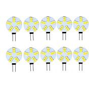 economico -10 pezzi 3 W Luci LED Bi-pin 290 lm G4 15 Perline LED SMD 5730 Decorativo Bianco caldo Luce fredda 12 V