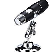 economico -microscopio digitale wifi portatile con lente d'ingrandimento digitale ad alta definizione 1000x a 8 luci