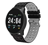 abordables -B2 Smartwatch Montre Connectée pour Android iOS Samsung Apple Xiaomi Bluetooth 1.3 pouce Taille de l'écran IPX-3 Niveau imperméable Imperméable Ecran Tactile Moniteur de Fréquence Cardiaque Mesure de