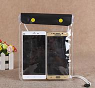 abordables -Sac de Protection Sac de téléphone portable Mobile Bag Phone pour Pluie Etanche Zip étanche 1 pouce PVC 15 m