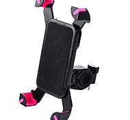 abordables -WEST BIKING® Monture de Téléphone Pour Vélo Ajustable / Réglable Antidérapant Universel pour Vélo de Route Vélo tout terrain / VTT PVC iPhone X iPhone XS iPhone XR Cyclisme Noir Noir / Rouge