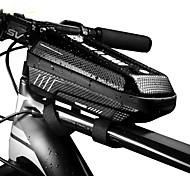 economico -1 L Bag Cell Phone Ompermeabile Portatile Zip impermeabile Borsa da bici pelle sintetica EVA Marsupio da bici Borsa da bici Ciclismo Bicicletta