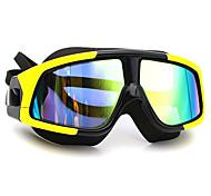 abordables -Lunettes de natation Antibrouillard Antiusure Antidérapant Protection UV Miroir Scratch Resistant Pour Adulte PC Polycarbonate N / C Noir / Plaqué