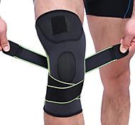 economico -Ginocchiera Manica per il ginocchio per Resistente agli urti Elastico Protezione Fitness Pallacanestro Calcio 1 pezzo Nylon Capelli di Toyokalon Emulsione Sportivo Arancione Verde