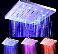 abordables -contemporain Douche pluie Plaqué Fonctionnalité - LED / Nouveau design / De Douche, Pomme de douche