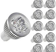abordables -10 pièces 5 W Spot LED 450 lm E14 GU10 GU5.3 5 Perles LED LED Haute Puissance Décorative Blanc Chaud Blanc Froid 85-265 V