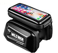 economico -Bag Cell Phone Sacca da manubrio bici 6.2 pollice Ciclismo per iPhone 8 Plus / 7 Plus / 6S Plus / 6 Plus iPhone X Nero Ciclismo / Bicicletta