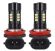abordables -1 paire authentique pgj19-2 de voiture antibrouillard blanche h8 h9 h11 ampoule led 6000k led antibrouillard pgj19-1 adapté pour toyota / volkswagen / audi