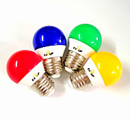 economico -5 W Lampadine globo LED 430 lm E14 E26 / E27 G45 11 Perline LED SMD 2835 Feste Decorativo Vacanze Rosso Blu Giallo 220-240 V 110-130 V