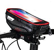 economico -Borsa per cellulare Sacca da manubrio bici 6.2 pollice Ciclismo per iPhone 8 Plus / 7 Plus / 6S Plus / 6 Plus iPhone X Nero Nero - rosso Ciclismo / Bicicletta