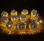 abordables -guirlande lumineuse solaire led boule marocaine étanche 10m 50led 7m 30led et 5m 20led globe fée guirlande lumineuse orbe lanterne éclairage de noël pour la décoration de la maison de fête en plein
