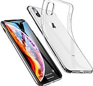 economico -telefono Custodia Per Apple Per retro iPhone 12 Pro Max 11 SE 2020 X XR XS Max 8 7 6 Resistente agli urti Ultra sottile Transparente Tinta unita Morbido TPU