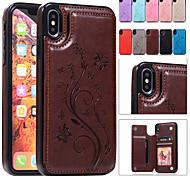 economico -telefono Custodia Per Apple Per retro Custodia in pelle iPhone 12 Pro Max 11 SE 2020 X XR XS Max 8 7 6 iPhone 11 Pro Max SE 2020 X XR XS Max 8 7 6 Porta-carte di credito Con supporto Decorazioni in