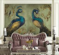 abordables -Art déco motif animal décoration de la maison classique revêtement mural moderne, adhésif matériel de toile nécessaire papier peint mural tissu mural, revêtement mural de la chambre