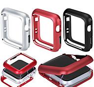 abordables -cadre magnétique en métal protecteur de couvercle de boîtier de pare-chocs pour apple apple watch series 4/3/2/1