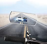 abordables -Rétroviseur Rétroviseur de Vélo sur Guidon Miroir Convexe Ajustable Durable Facile à Installer Cyclisme moto Vélo Alliage d'aluminium Noir Rouge Bleu 2 pcs Vélo tout terrain / VTT Cyclisme sur Route