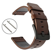 economico -Cinturino intelligente per Huawei 1 pcs Cinturino sportivo Vera pelle Sostituzione Custodia con cinturino a strappo per Huawei Watch GT Watch 2 Pro