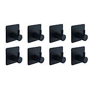 economico -Set di accessori per il bagno / Portasciugamani a muro / Appendi-accappatoio Auto-adesivo / Fantastico / Multiuso Moderno / Antico Acciaio inossidabile 8 pezzi - Bagno Singolo / 1 barra di