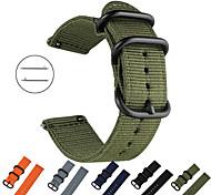 economico -Cinturino intelligente per Ghiaia 1 pcs Cinturino sportivo Tessuto Nylon Sostituzione Custodia con cinturino a strappo per Tempo di ghiaia Pebble Time Steel