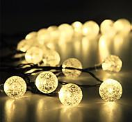abordables -15m Guirlandes Lumineuses 100 LED 1Set Support de montage 1 set Blanc Chaud RVB Blanc Décoration de mariage de Noël Alimentation Solaire