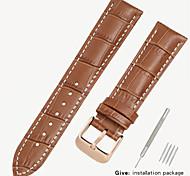 economico -orologio da uomo in pelle sostitutiva tissot 1853 con accessori da donna in pelle ree casio longines locke 14/16/18 / 19mm