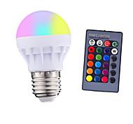 economico -3w e27 led rgb ha condotto la lampadina con colore della lampada pop telecomando telecomando ir cambiando ac 85-265v 16 colori che cambiano led lampadine tubi