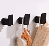 economico -Appendi-accappatoio Creativo Divertente e stravagante Alluminio 3 pezzi - Bagno / Bagno dell'hotel Montaggio su parete