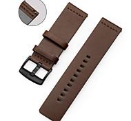 economico -Cinturino intelligente per LG 1 pcs Cinturino sportivo Vera pelle Sostituzione Custodia con cinturino a strappo per LG G Watch W100 LG G Watch R W110 LG Watch Urbane W150 22mm