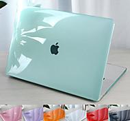 """abordables -MacBook Etuis Couleur Pleine PVC pour MacBook Air 13 pouces / Nouveau MacBook Pro 13 pouces / Nouveau MacBook Air 13 """"2018"""