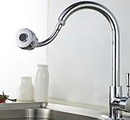 abordables -Accessoire de robinet - Qualité supérieure Bec d'eau contemporain Acier inoxydable Chrome