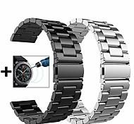 economico -Cinturino intelligente per Samsung Galaxy 2 pezzi Cinturino sportivo Cinturino a maglia milanese fibbia a farfalla Acciaio inossidabile Sostituzione Custodia con cinturino a strappo per Gear S3