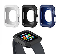abordables -couvercle de la montre pour apple watch case 44mm 40mm tpu étui de protection bouton en métal pour iwatch série 4 accessoires de protection d'écran