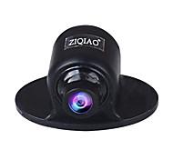 economico -ZIQIAO 640 x 480 CCD Con filo 170 Gradi Telecamera posteriore Impermeabile / Monitoraggio a 360 ° per Auto