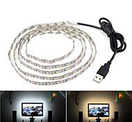 abordables -1 pc 1 m led bandes lumineuses flexibles tiktok lumières 60leds usb câble puissance 5 v smd 2835 6 mm noël bureau décor lampe ruban pour tv fond éclairage