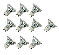 abordables -10 pièces 4 W Spot LED 300 lm GU10 GU10 60 Perles LED SMD 2835 Décorative Blanc Chaud Blanc Froid 220-240 V