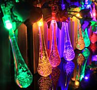 economico -3M Fili luminosi 20 LED 1 set Bianco caldo Colori primari Bianco Creativo Feste Decorativo Batterie AA alimentate