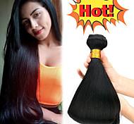 abordables -Lot de 4 Tissage de cheveux Cheveux Malaisiens Droit Extensions de cheveux Naturel humains Paquets de 100% Remy Hair Weave Tissages de cheveux humains Bundle cheveux Extensions Naturelles 8-28 pouce