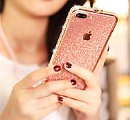 economico -telefono Custodia Per Apple Per retro iPhone 12 Pro Max 11 Pro Max iPhone XR iPhone XS iPhone XS Max iPhone X iPhone 8 Plus iPhone 8 iPhone 7 Plus iPhone 6s Plus iPhone 6s Con diamantini Glitterato