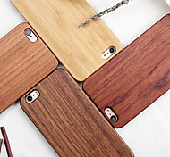 economico -telefono Custodia Per Apple Per retro iPhone XR iPhone XS iPhone XS Max iPhone X iPhone 8 Plus iPhone 8 iPhone 7 Plus iPhone 7 iPhone 6s Plus iPhone 6s Fantasia / disegno Simil-legno Resistente di
