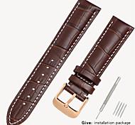 economico -sostituzione bracciale in pelle da uomo 1853 con locke in pelle da donna casio longines accessori bracciale 14/16/18 / 19mm