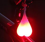 abordables -LED Eclairage de Velo Ampoules LED Eclairage de Vélo Arrière Eclairage sécurité / feu clignotant velo Vélo Cyclisme Imperméable Design nouveau Transport Facile CR2032 20 lm Batterie CR2032 Rouge Bleu